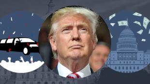الرئيس الخامس والأربعون للولايات المتحدة دونالد ترامب