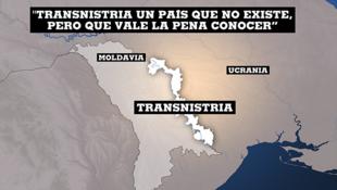 Mapa de transnistria