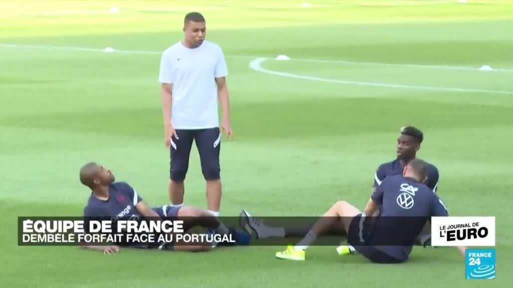2021-06-20 23:53 EURO 2020 : Ousmane Dembélé forfait face au Portugal