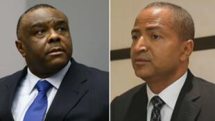 Les opposants congolais Jean-Pierre Bemba, à gauche, et Moïse Katumbi, à droite, préparent leur retour en République démocratique du Congo.