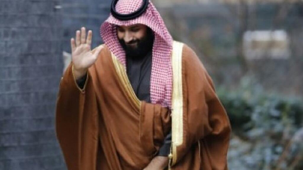 ولي العهد السعودي الأمير محمد بن سلمان خلال زيارته لندن 7 آذار/مارس 2018