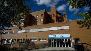 L'hôpital Carlos III, à Madrid, où est prise en charge l'aide-soignante ayant contracté Ebola
