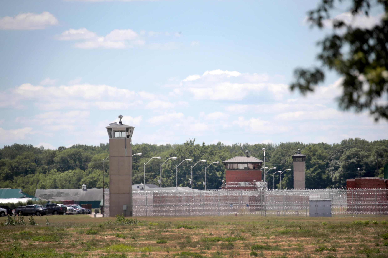 """سجن """"تير هوت"""" في ولاية إنديانا حيث تم تنفيذ حكم الإعدام بحق رجل أدين في قضية قتل. 14 يوليو/تموز 2020."""