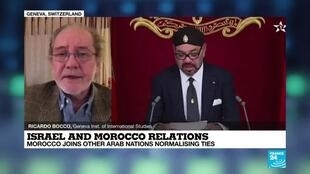 2020-12-10 23:03 Israel and Morocco relations; Morocco joins other arab nations normalising ties