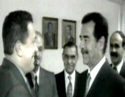 Hugo Chavez et Saddam Hussein