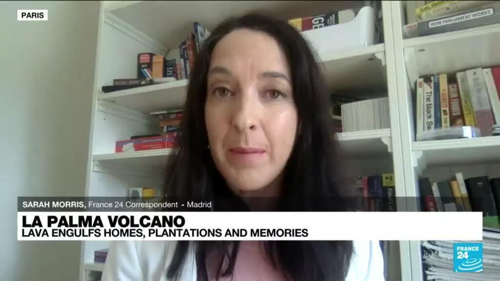 2021-09-23 13:06 La Palma volcano: Lava engulfs homes, plantations and memories