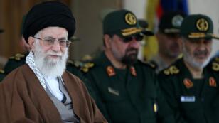 L'ayatollah Ali Khamenei, le 20 mai 2015, à Téhéran.