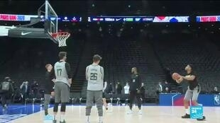 2020-01-24 14:44 NBA in Paris: Bucks and Hornets to face off in Paris