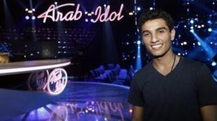 """Le Gazaoui Mohamad Assaf, vainqueur de l'émission """"Arab Idol"""""""