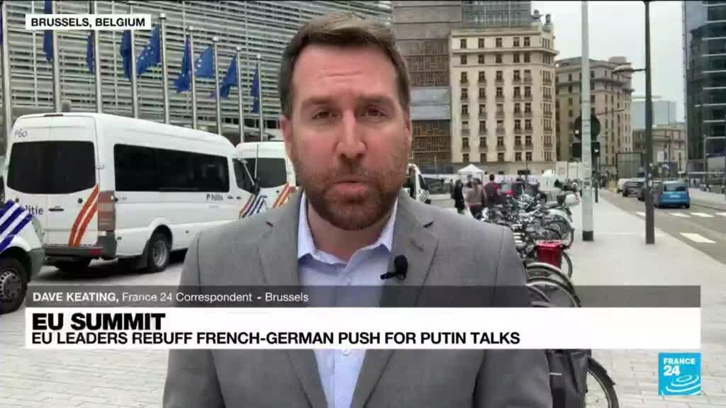 2021-06-25 13:39 France, Germany drop plans for Russia summit after EU outcry