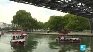2020-08-09 02:34 Parisians struggle to keep cool during heat wave