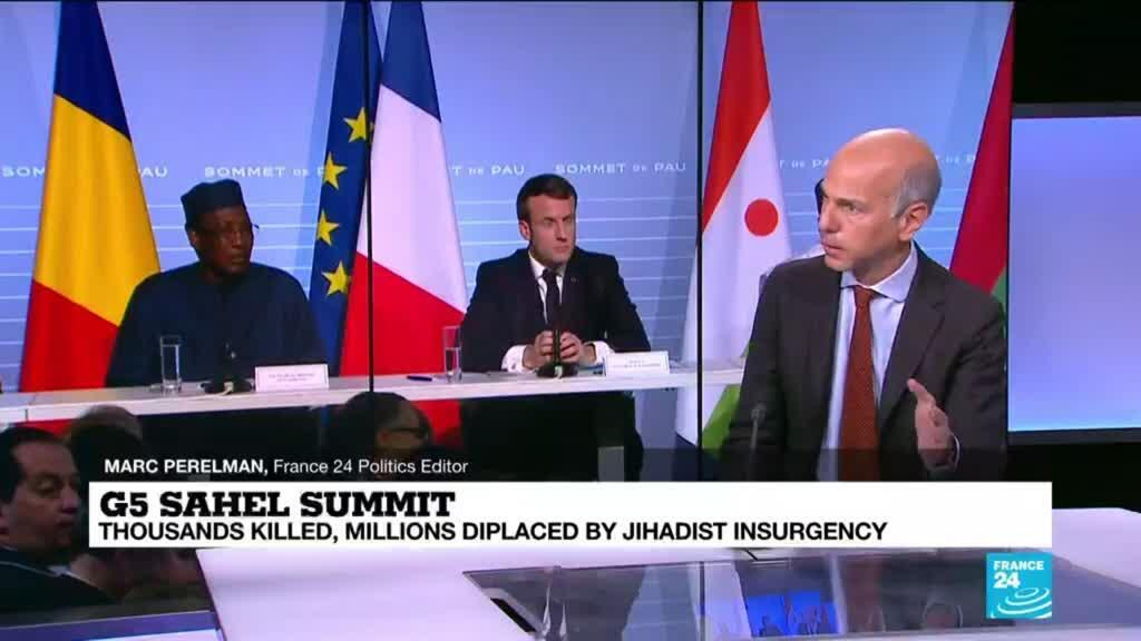 2021-02-16 12:01 Macron urges expanded anti-terror fight, government control in Sahel