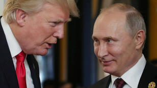 الرئيسان الروسي فلاديمير بوتين والأمريكي دونالد ترامب