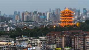 Wuhan, capitale de la région chinoise de Hubei, compte plus de 11millions d'habitants.
