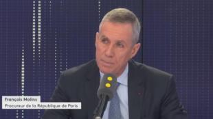 """François Mollins, procureur de la République de Paris, évoquant les """"revenants"""" sur France Info, le vendredi 10 novembre 2017."""