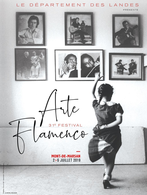 Una fotografía de Michel Dieuzaide fue el afiche de esta edición 2019 del destacado Festival de flamenco francés, el más importante fuera de la península ibérica.
