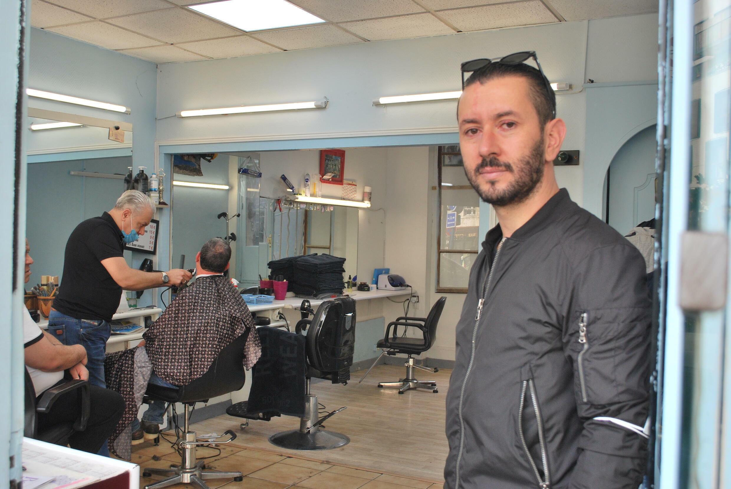"""Sufian, 36, says life has become a thing of the past. """"Unbearable"""" And that customers will start moving elsewhere."""