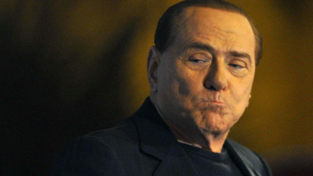 Silvio Berlusconi a été hospitalisé à Milan, le 30 avril 2019.