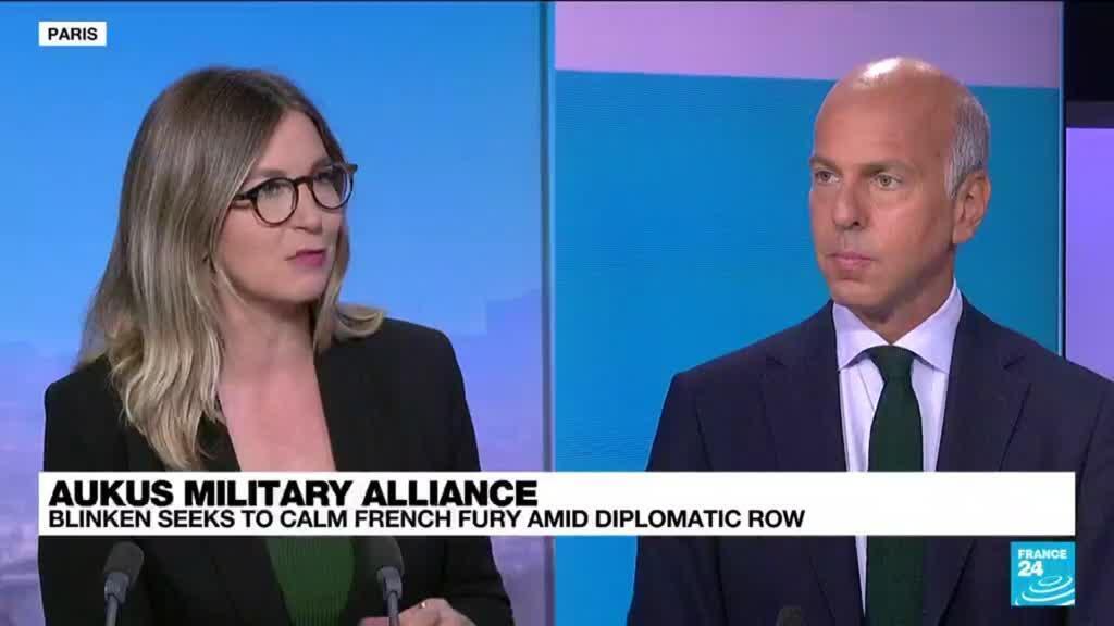 2021-09-17 13:04 AUKUS alliance: Blinken seeks to calm French fury amid diplomatic row