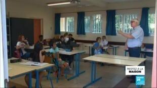 2020-04-22 14:02 Covid-19 : retour en classe pour une partie des élèves de Nouvelle-Calédonie