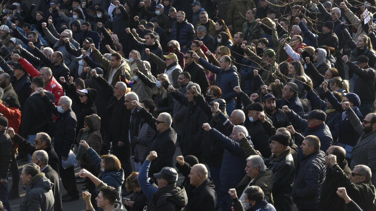 Armenia crisis grows as president blocks bid to fire army chief - France 24