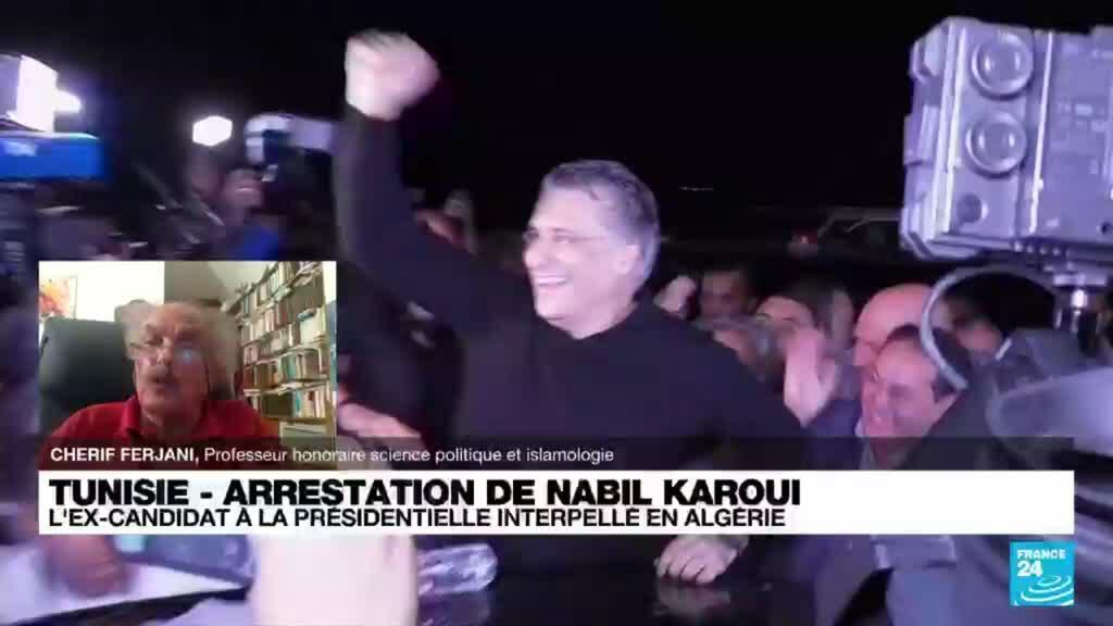 2021-08-30 20:41 Arrestation de l'homme d'affaires tunisien et ancien candidat présidentiel Nabil Karoui