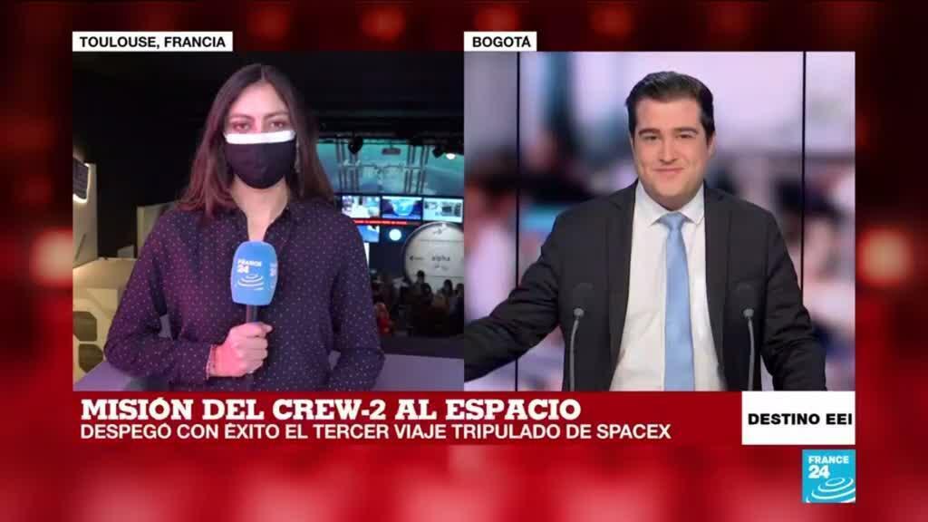 2021-04-23 13:06 Informe desde Toulouse: la #MisiónAlfa es el tercer viaje tripulado de SpaceX