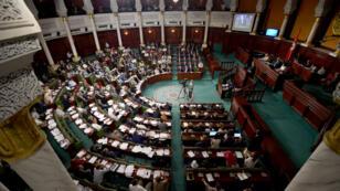Le parlement tunisien, le 30 juillet 2016.