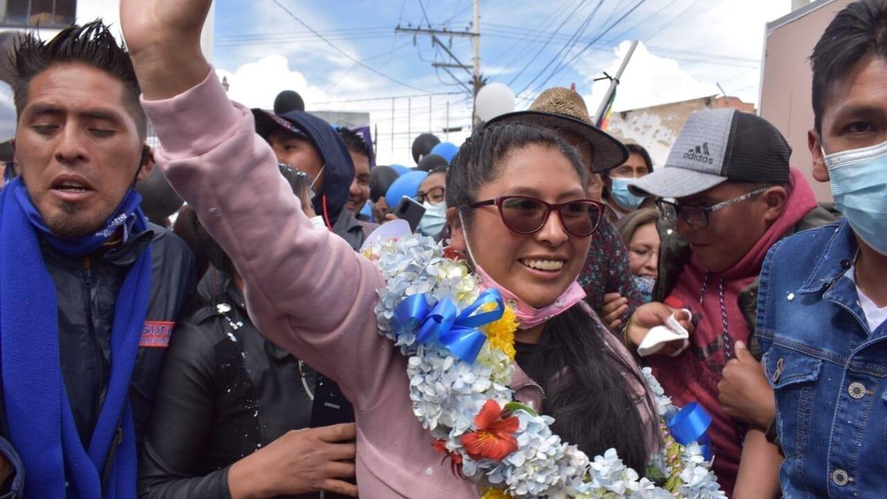Eva Copa, la joven aymara que desafió a Evo Morales y arrasó en las elecciones de El Alto