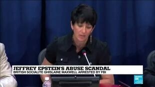 2020-07-03 00:01 Ghislaine Maxwell arrested on multiple charges of procuring minors for Jeffrey Epstein to abuse