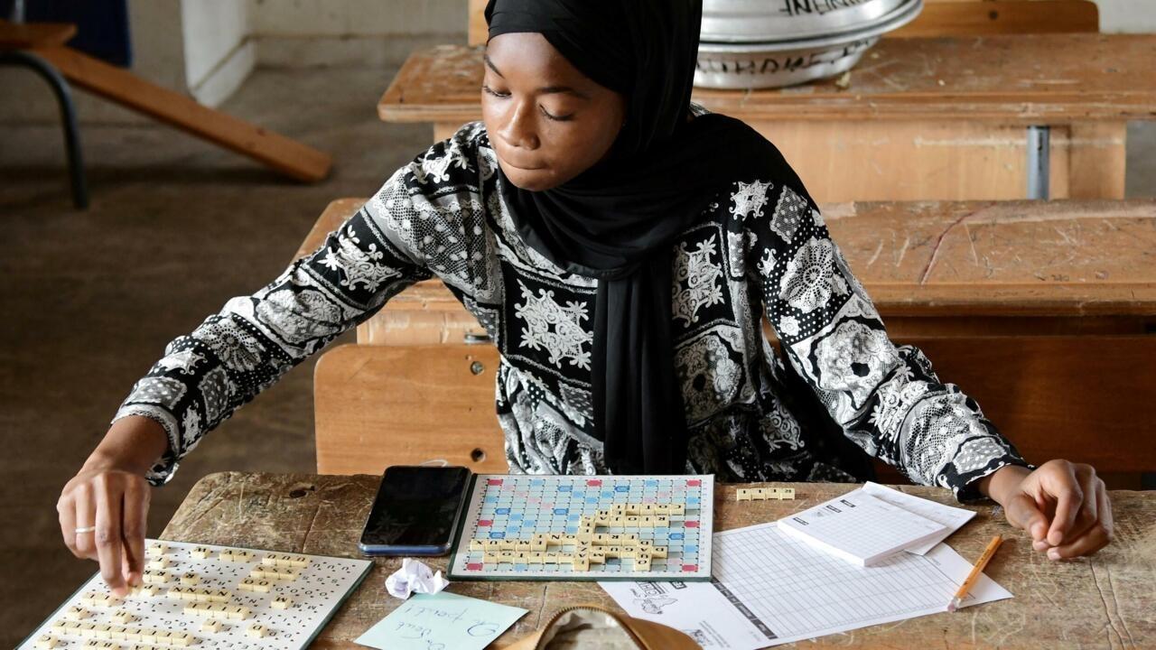Image Senegal Scrabble junkies back at the board after virus hiatus