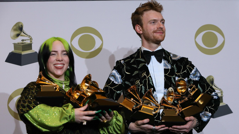 Billie Eilish Y Finneas O´Connell Grammy 2020