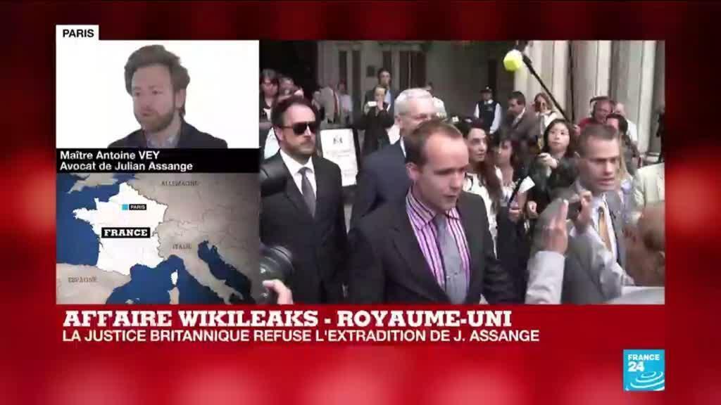 2021-01-04 13:19 Refus d'extrader Assange : l'état de santé du fondateur de WikiLeaks au coeur du procès