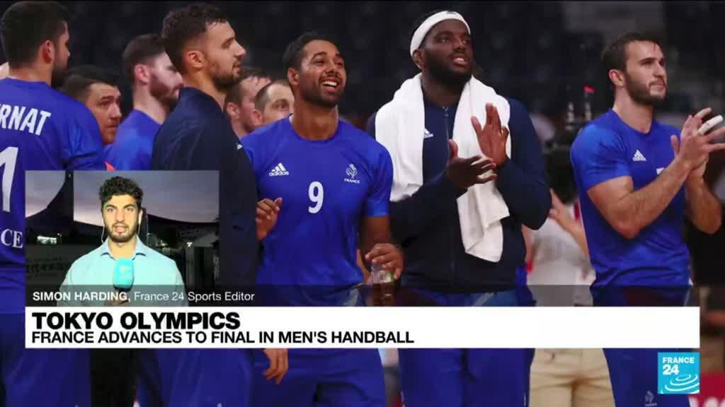 2021-08-05 12:00 Tokyo Olympics: French handball team reaches final in sensational performance against Egypt
