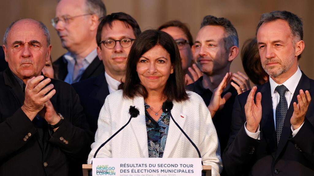 Municipales 2020 : large victoire d'Anne Hidalgo à Paris