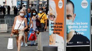 France coronavirus Marseille