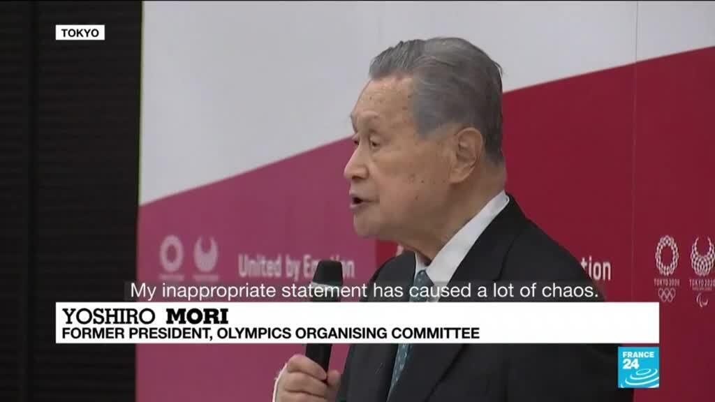 2021-02-12 12:01 'My inappropriate statement has caused a lot of chaos': Tokyo Olympics chief quits