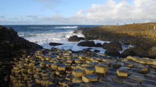 Orgues basaltiques de la Chaussée des Géants, en Irlande du Nord.