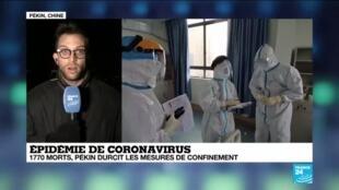 2020-02-17 15:06 Coronavirus : La durée d'incubation du virus pourrait être plus longue que prévu