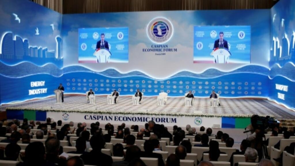 Turkmen leader attends first diplomatic event since death rumours