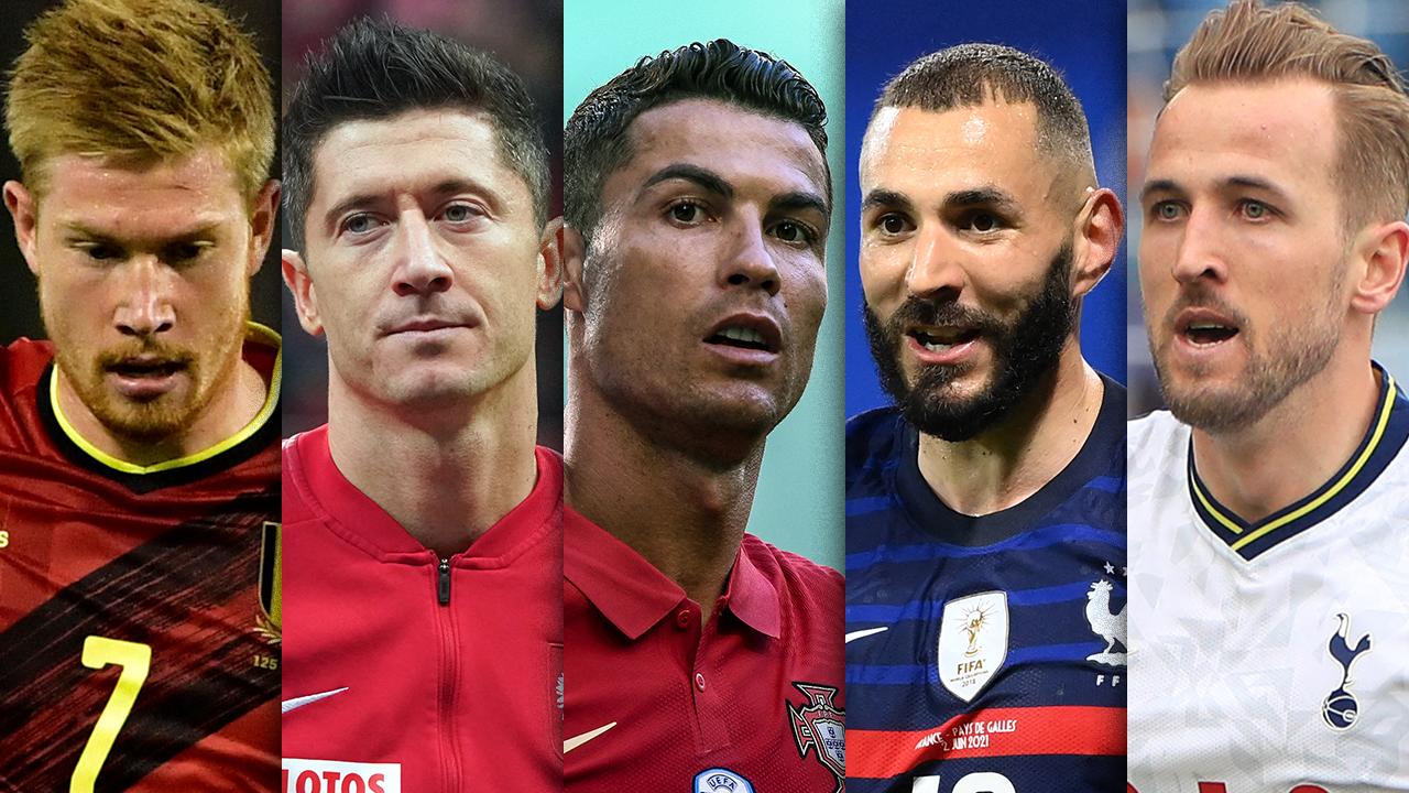 Euro 2021 stars a suivre