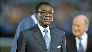Le président de Guinée équatoriale Teodoro Obiang Nguema en 2012.