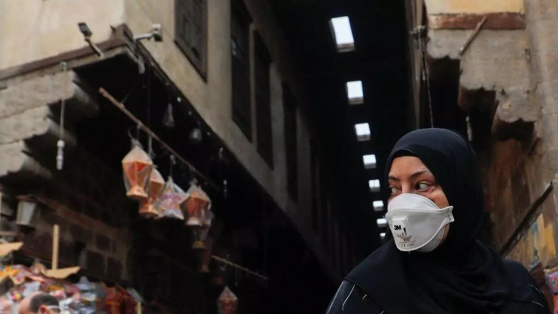 شارع في القاهرة القديمة. مصر 16 أبريل/نيسان 2020.