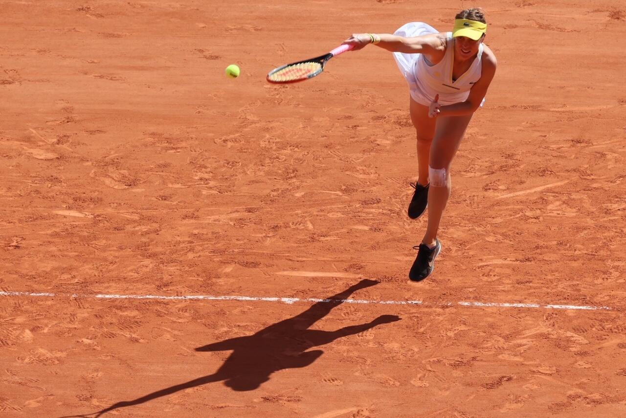 À 29 ans, la Russe Anastasia Pavlyuchenkova a été plus solide que son adversaire, de six ans sa cadette.