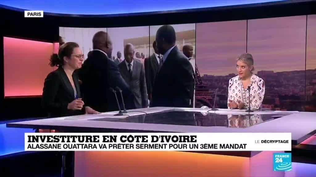 Afrique : Côte d'Ivoire : Alassane Ouattara va prêter serment pour un (...)