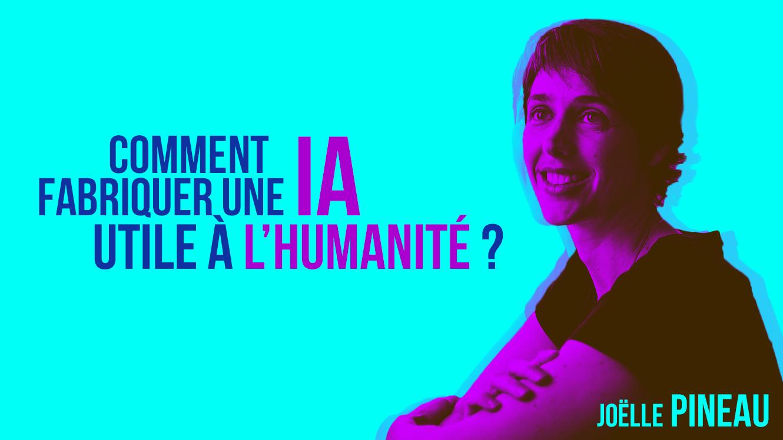 Joëlle Pineau, responsable du laboratoire de recherche en intelligence artificielle de Facebook (FAIR) à Montréal.