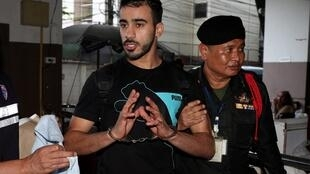 العريبي تم توقيفه في 27 تشرين الثاني/نوفمبر في بانكوك 2018