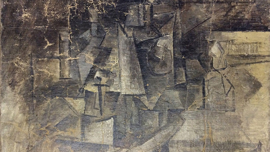 """Picasso's cubist """"La Coiffeuse"""", worth about $15 million, was stolen in 2001."""