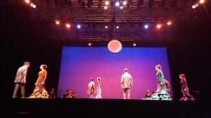 El espectáculo 'Una oda al tiempo', de la sevillana María Pagés abrió la edición 30 del festival de Mont de Marsan
