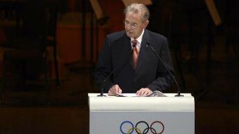 Jacques Rogge, le président sortant du CIO